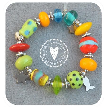bracelet enfant verre filé