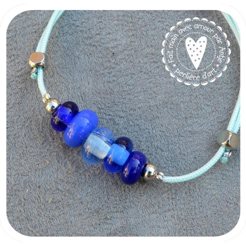 bracelet verre filé